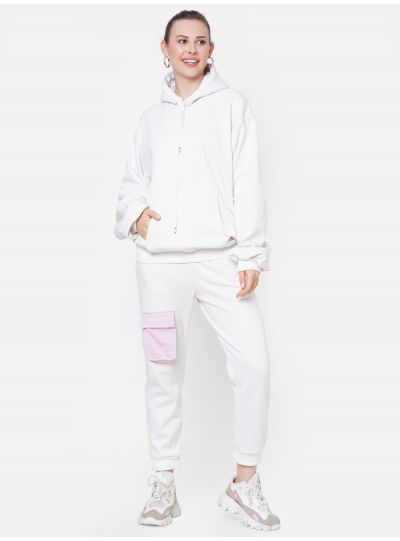 Oversized Hoodie with Pant Set