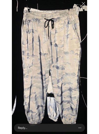Army Print Reflective Pant