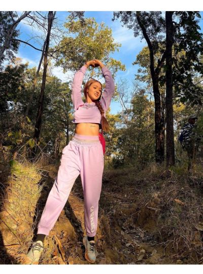 Lavendar Hoodie Set with Joggers