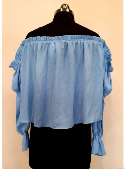 Sky Blue Freesize Top