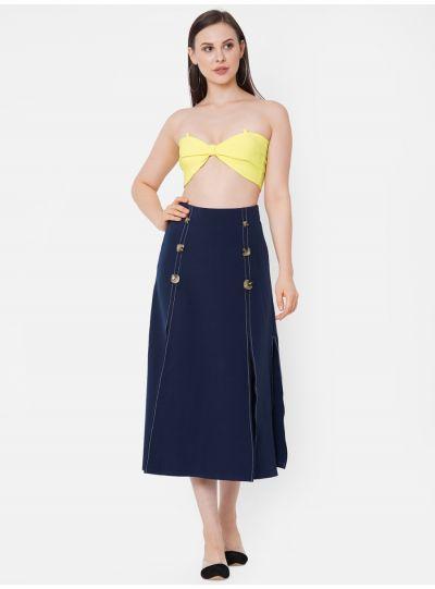 Masoom Double Slit Skirt