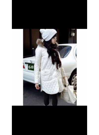 Faux Fur White Jacket