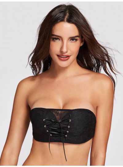Pull together Push up Bra Strapless