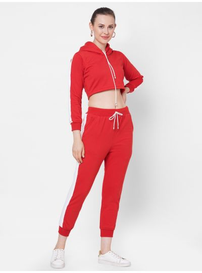 Red Joggers Set
