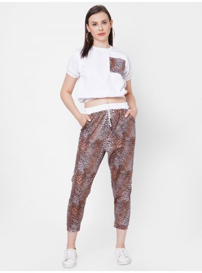 Animal Print Co Ord Set
