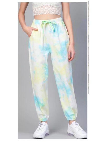 Multi Colour Tie n Dye Joggers