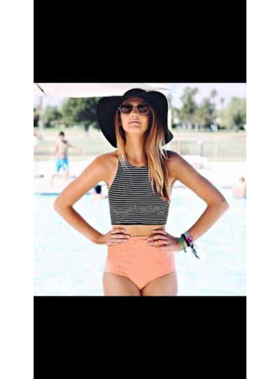 Halter High Waist Swim wear