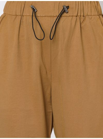 Mustard Joggers with Toggle