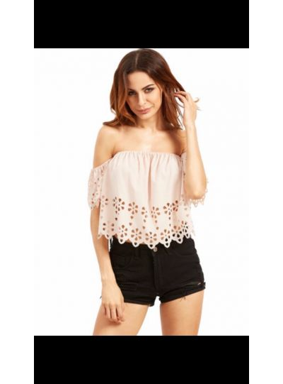 Yuvika Off Shoulder Crop